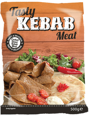 Tasty Kebab Meat - Retail Package