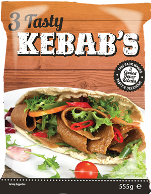 3 Tasty Kebabs - Retail Package